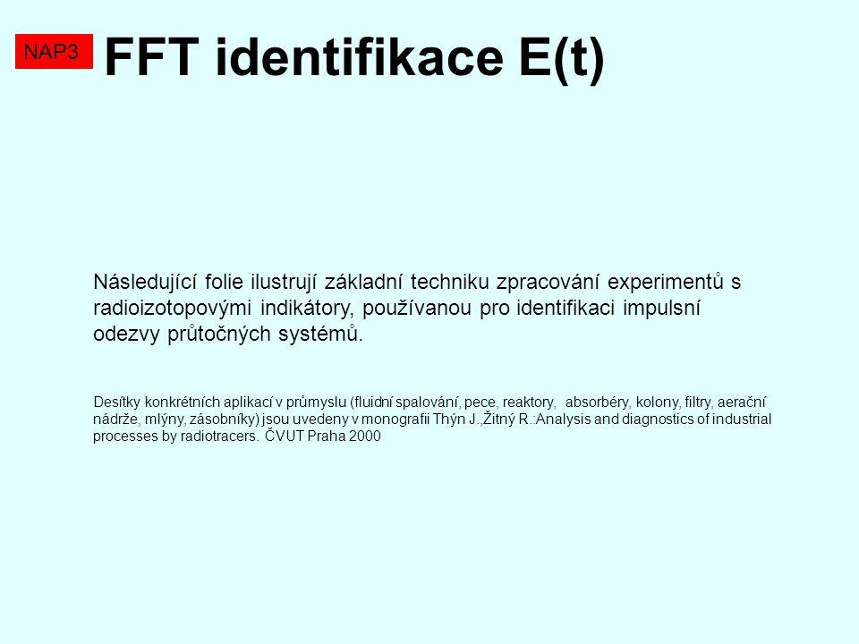 FFT identifikace E(t) NAP3