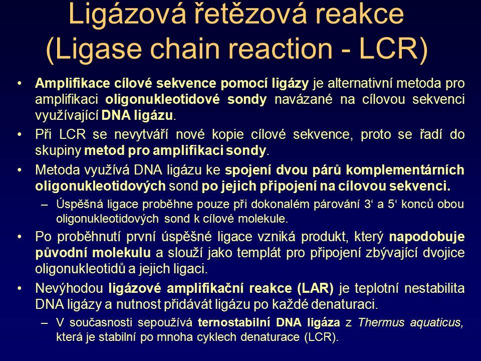 Ligázová řetězová reakce (Ligase chain reaction - LCR)