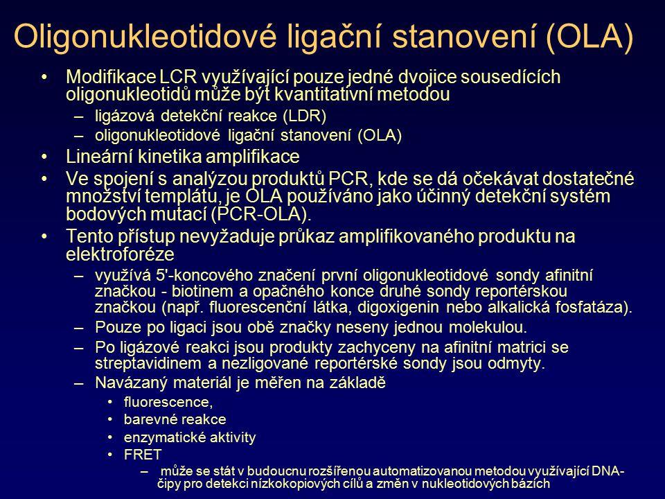 Oligonukleotidové ligační stanovení (OLA)