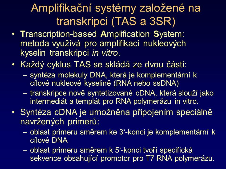 Amplifikační systémy založené na transkripci (TAS a 3SR)