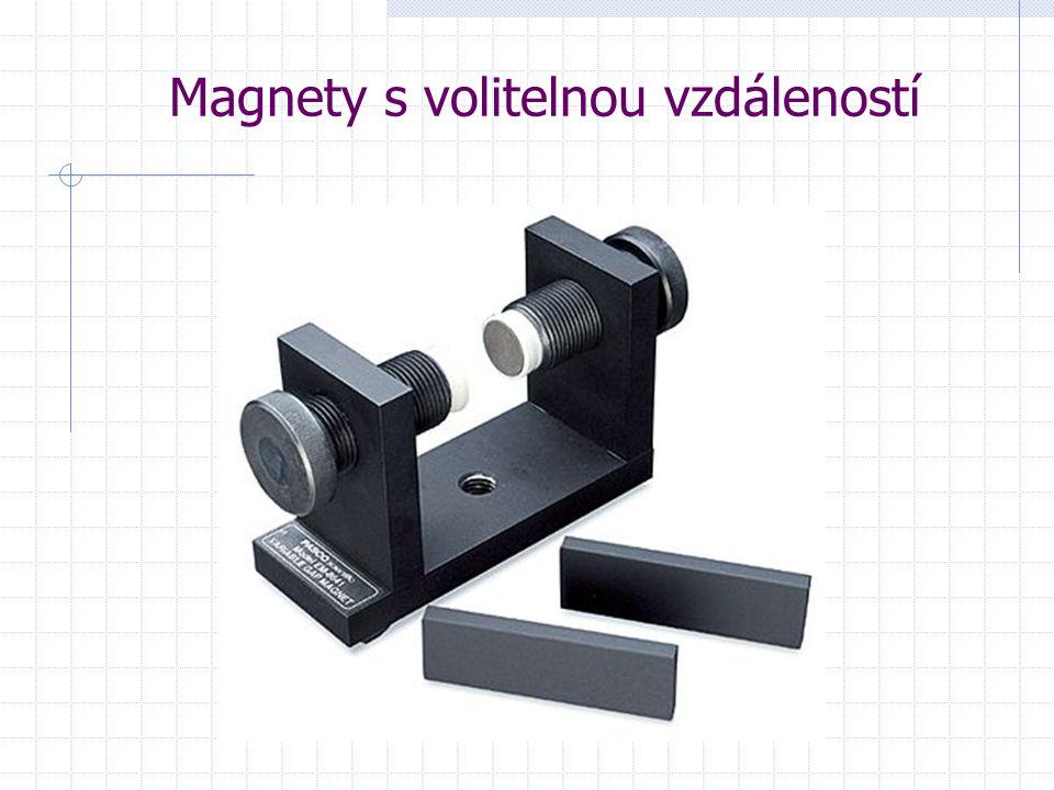 Magnety s volitelnou vzdáleností