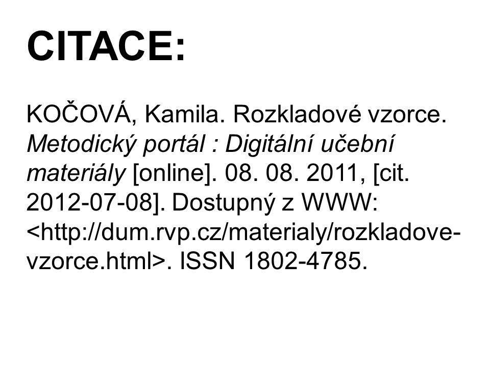 CITACE: