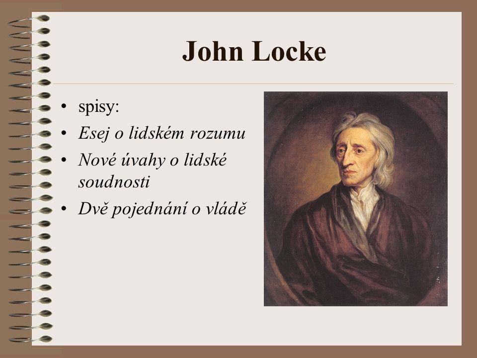 John Locke spisy: Esej o lidském rozumu Nové úvahy o lidské soudnosti