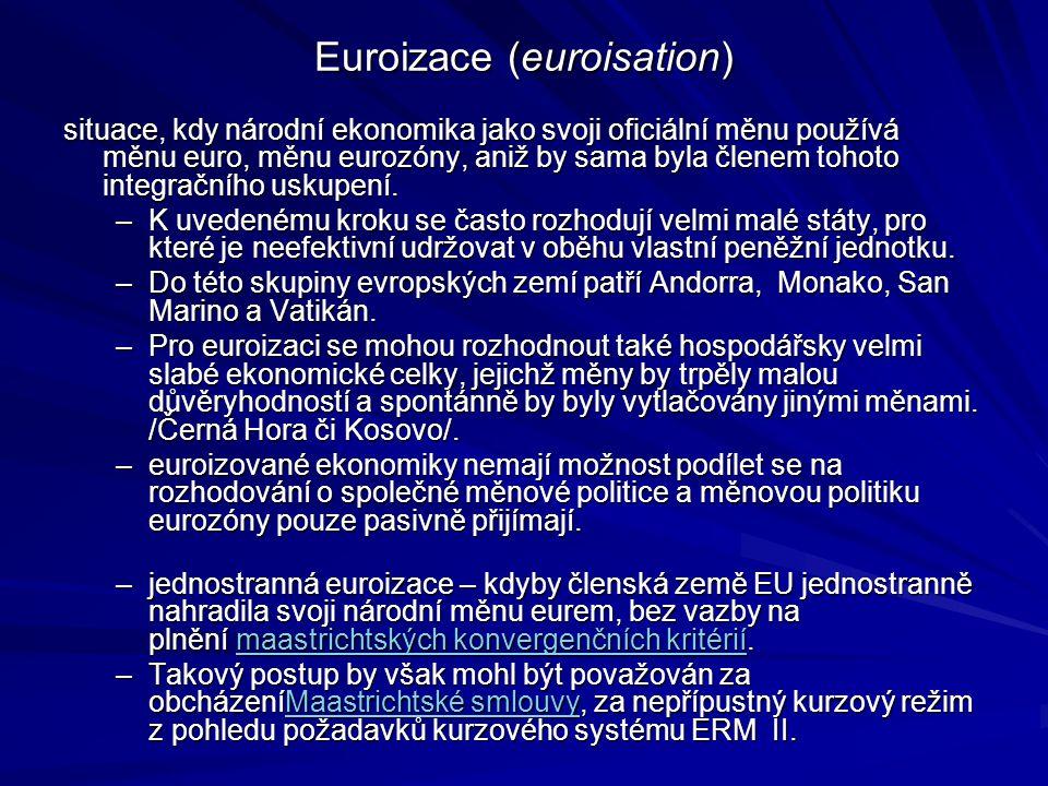 Euroizace (euroisation)