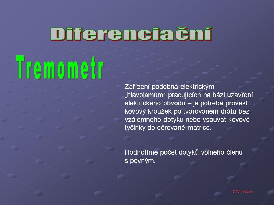 Tremometr Diferenciační