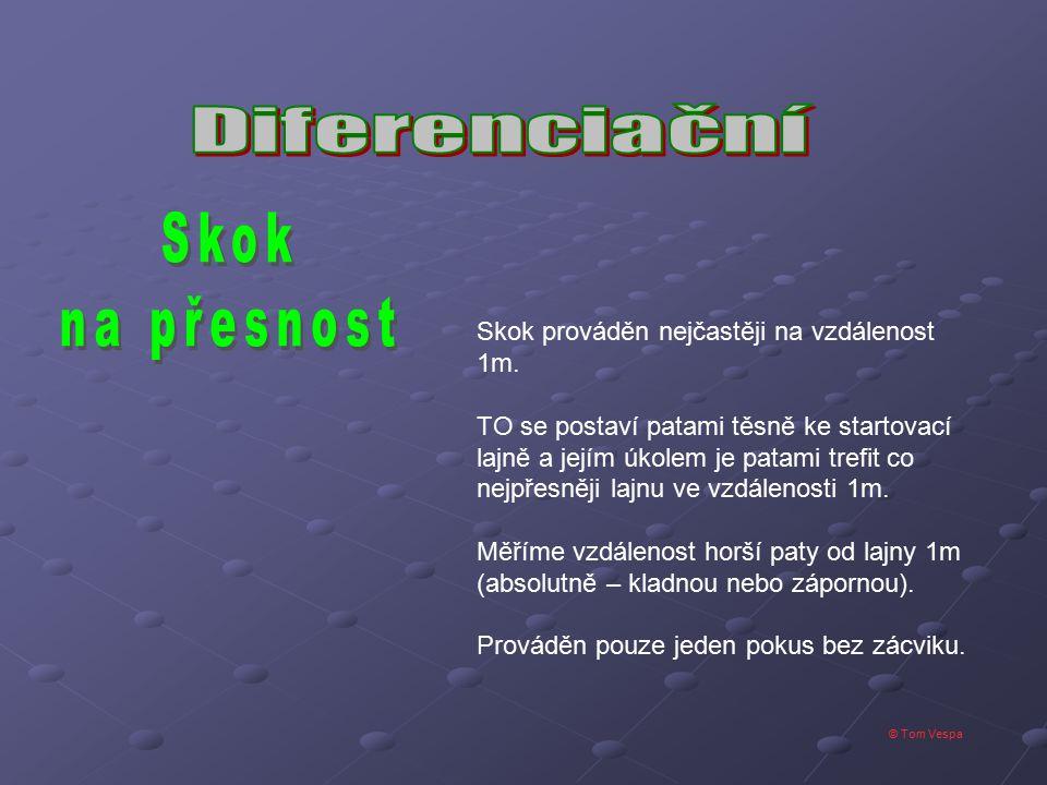 Skok na přesnost Diferenciační