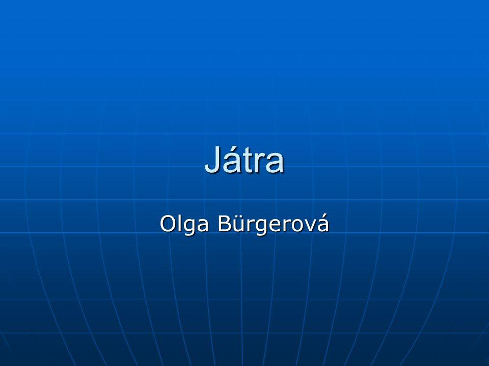 Játra Olga Bürgerová