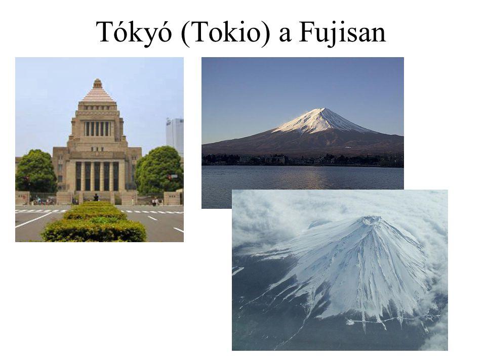 Tókyó (Tokio) a Fujisan