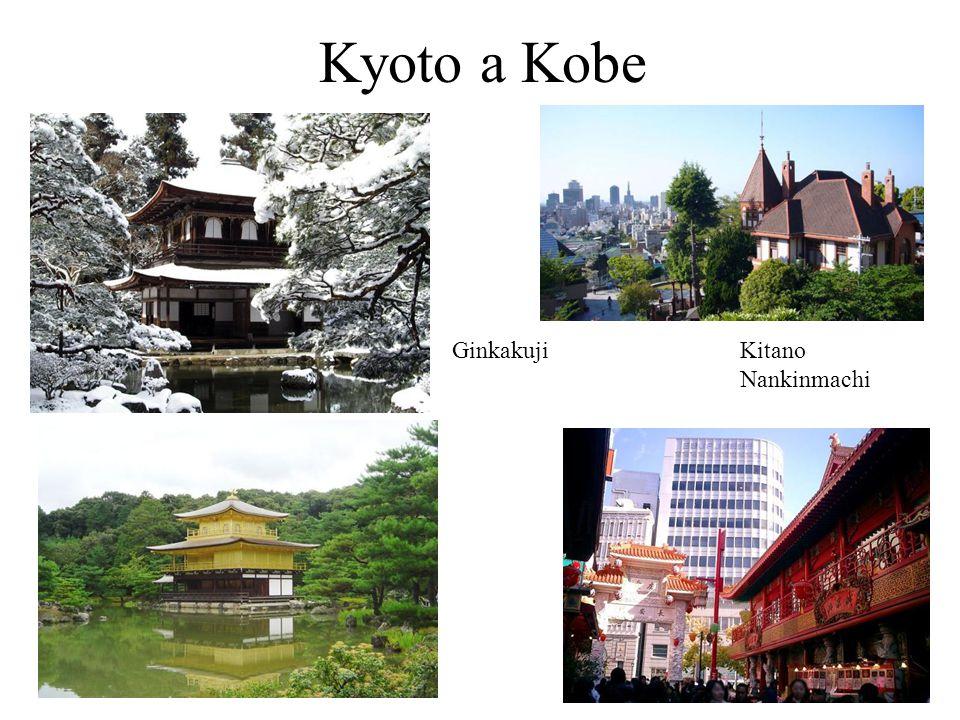 Kyoto a Kobe Ginkakuji Kitano Nankinmachi 6