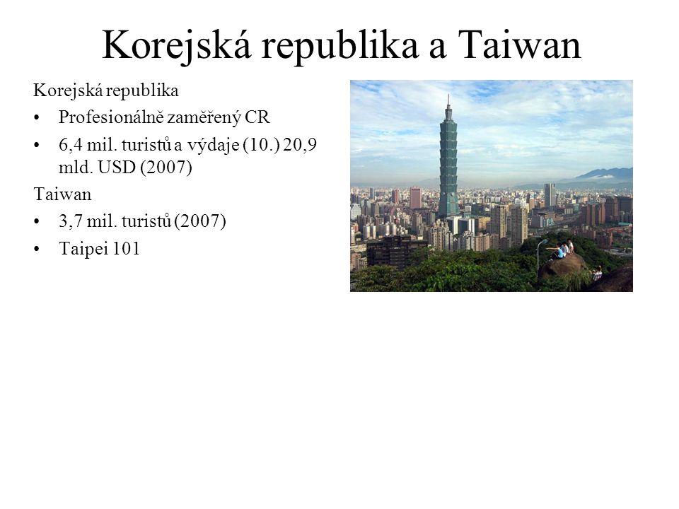 Korejská republika a Taiwan