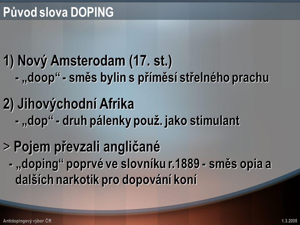 """2) Jihovýchodní Afrika - """"dop - druh pálenky použ. jako stimulant"""