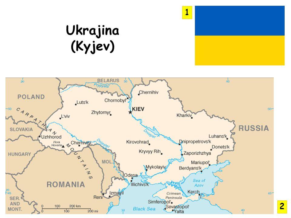 1 Ukrajina (Kyjev) 2
