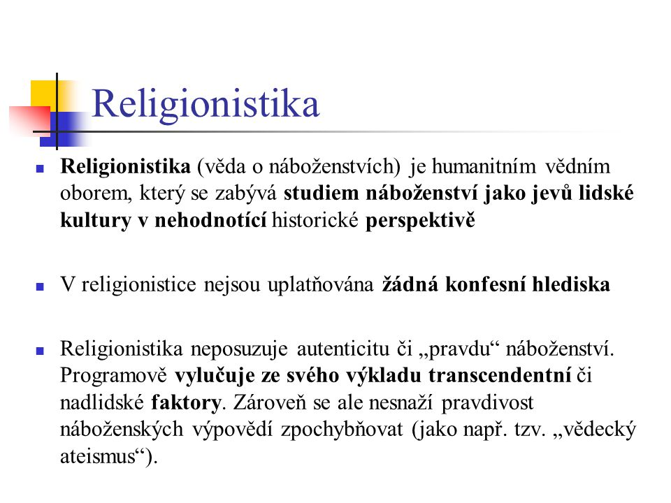 Religionistika