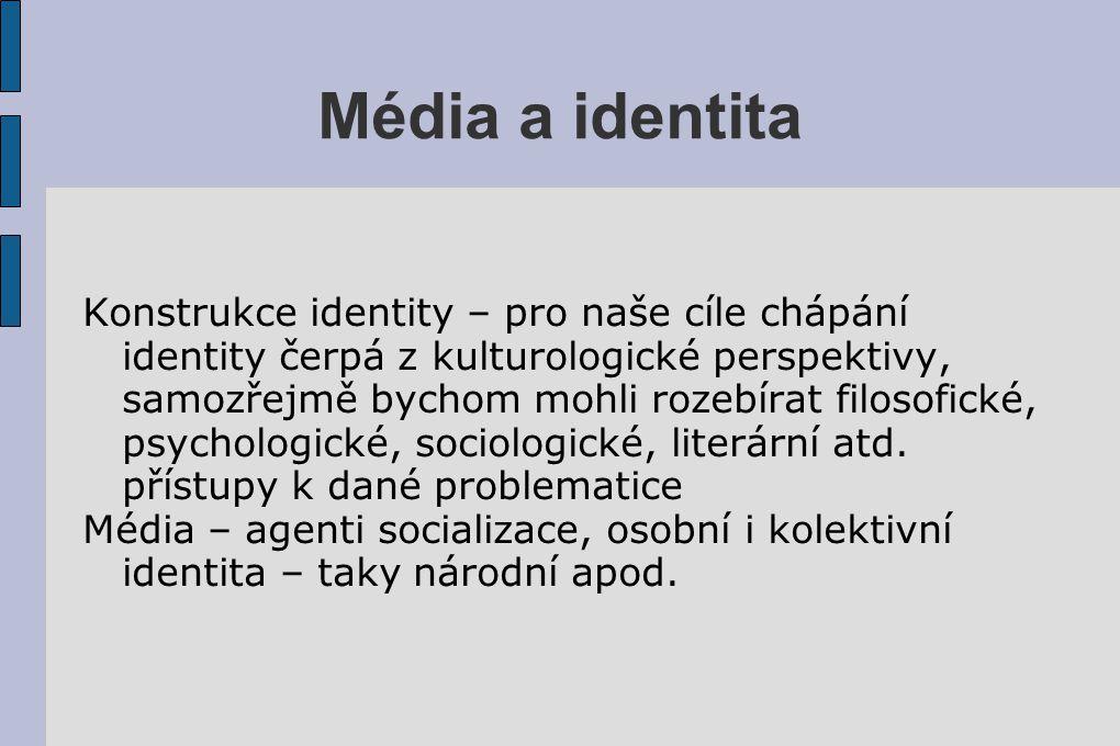 Média a identita