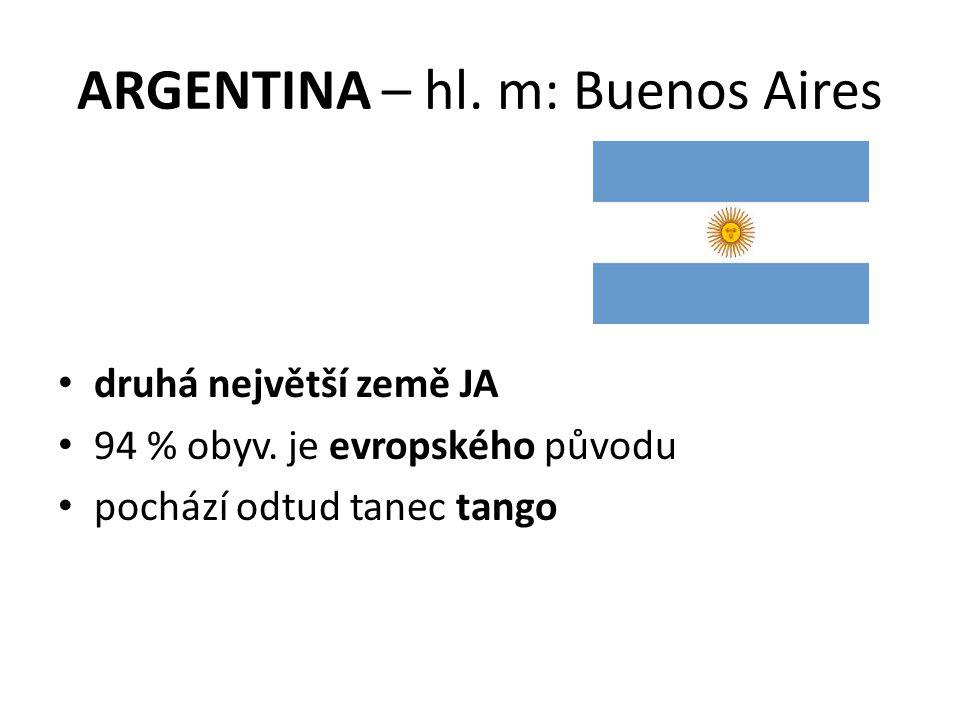 ARGENTINA – hl. m: Buenos Aires