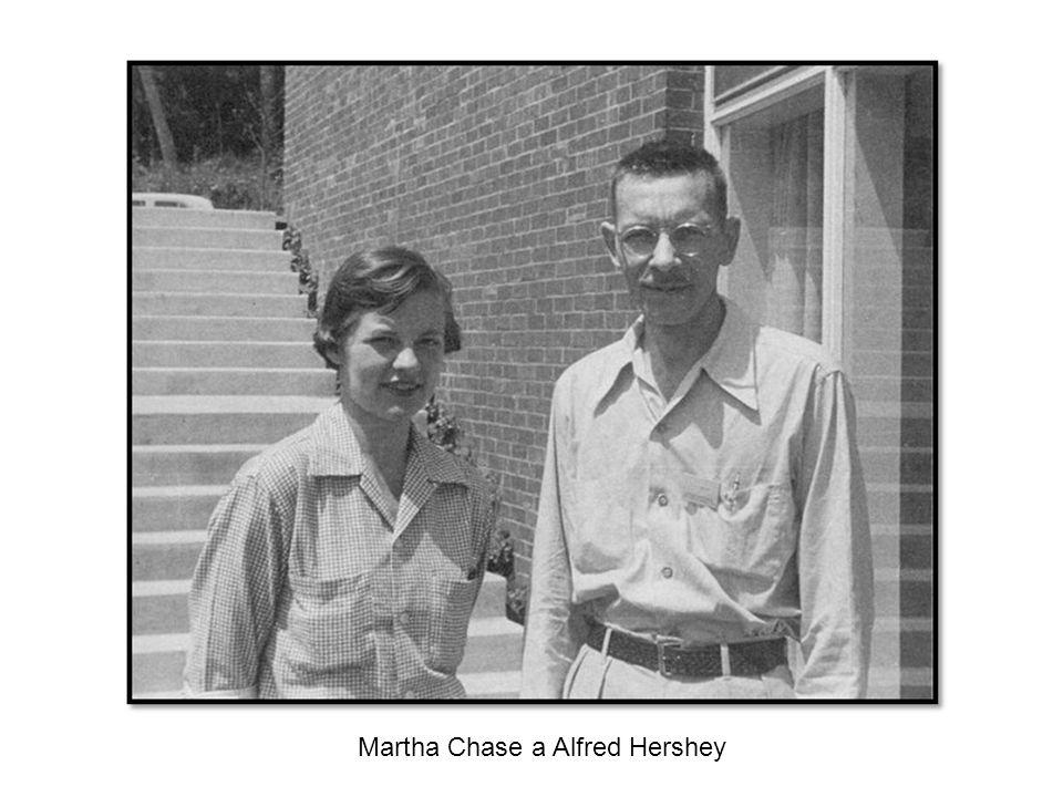 Martha Chase a Alfred Hershey