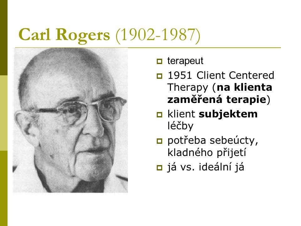 Carl Rogers (1902-1987) terapeut