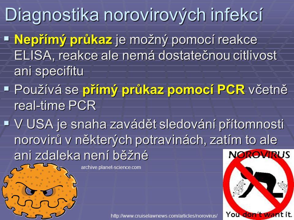 Diagnostika norovirových infekcí