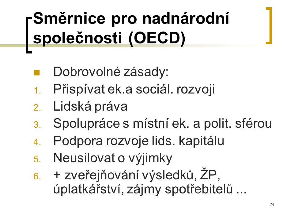Směrnice pro nadnárodní společnosti (OECD)