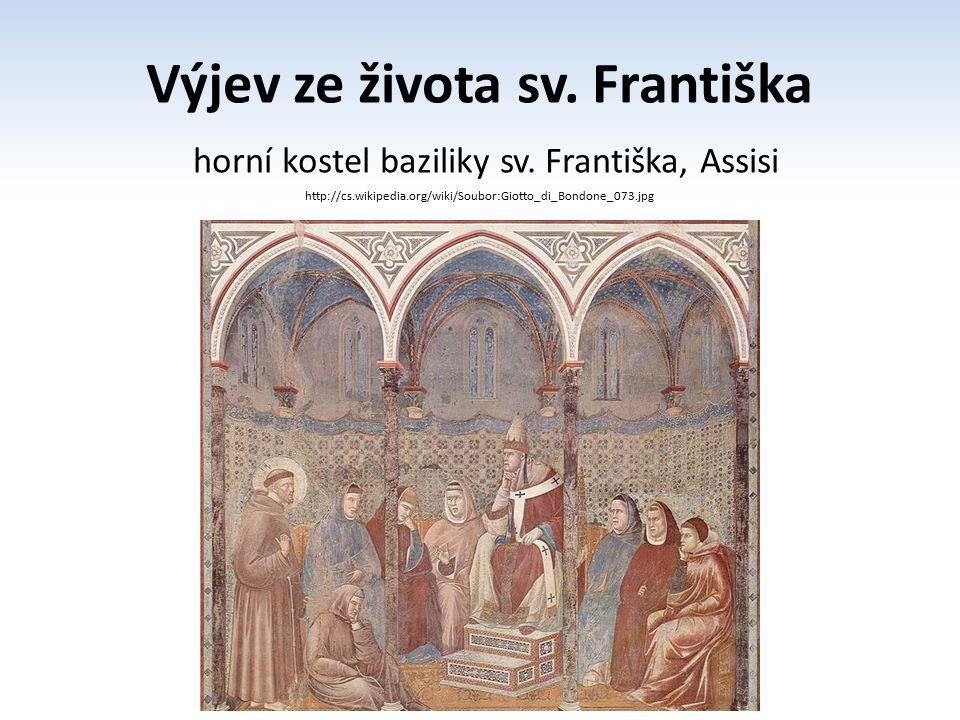 Výjev ze života sv. Františka