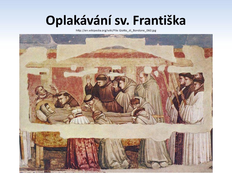 Oplakávání sv. Františka
