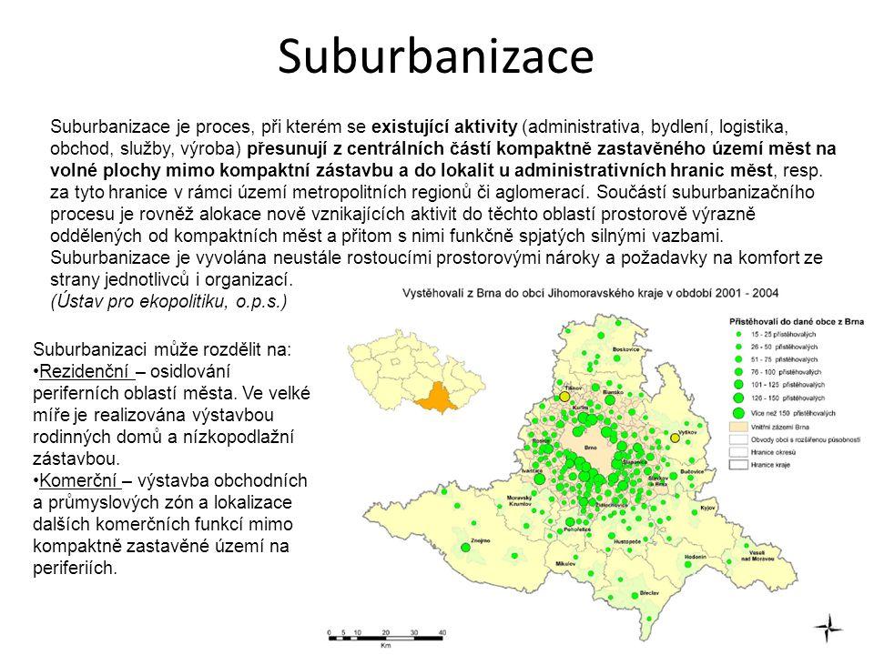 Suburbanizace