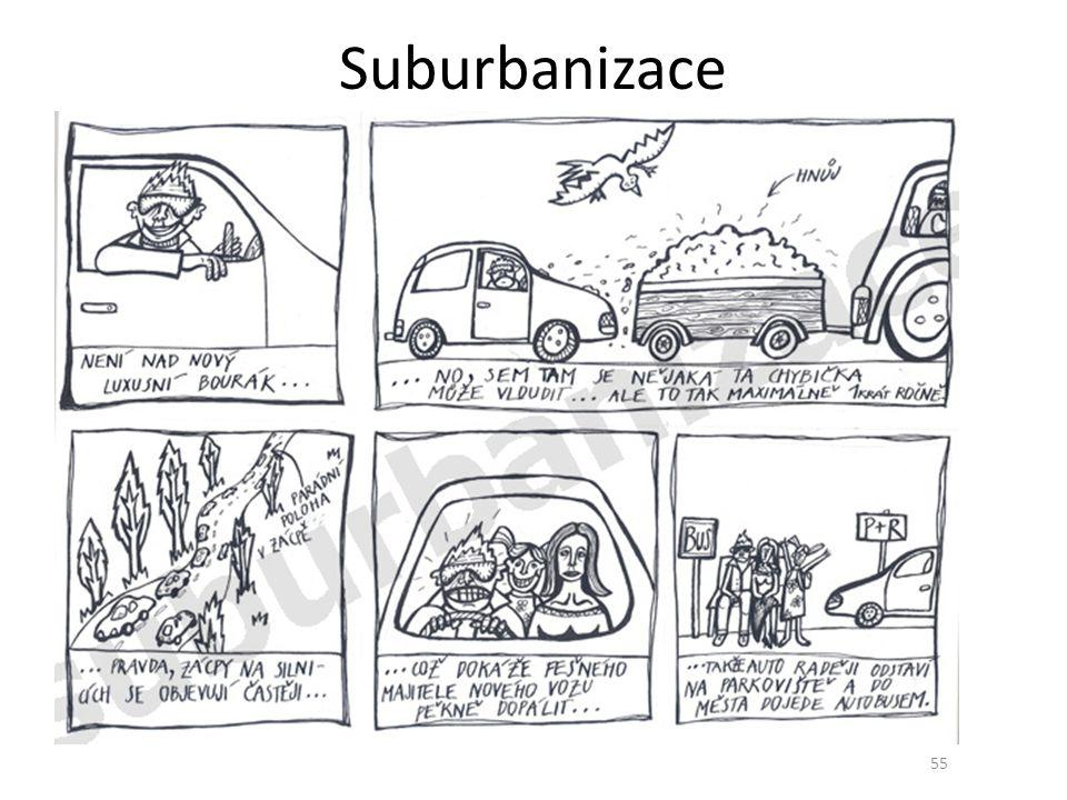 Suburbanizace 55 55