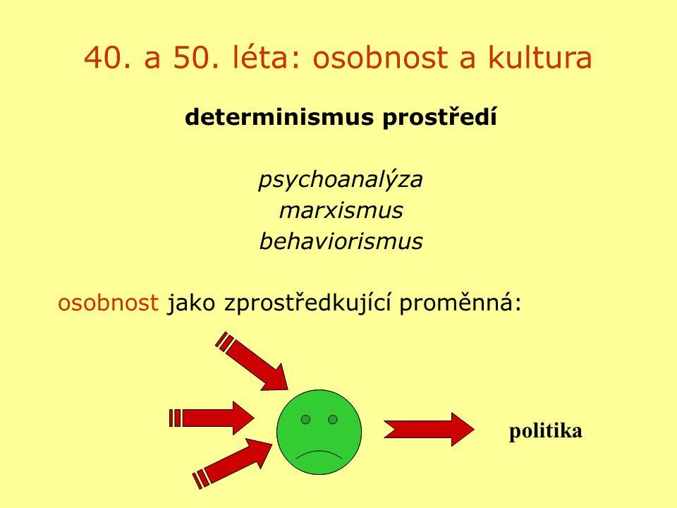 determinismus prostředí