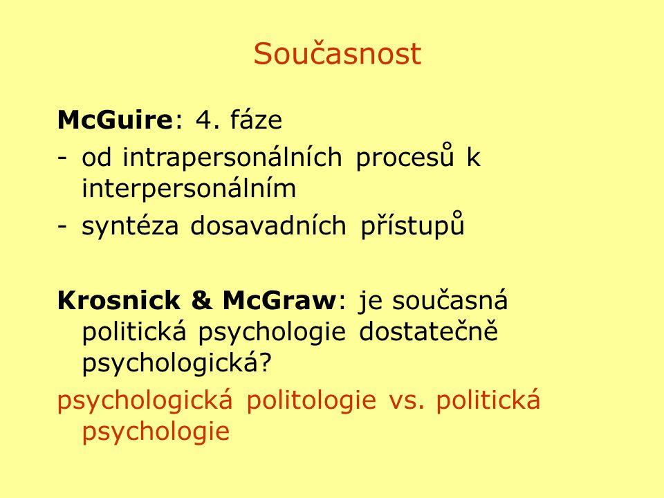 Současnost McGuire: 4. fáze