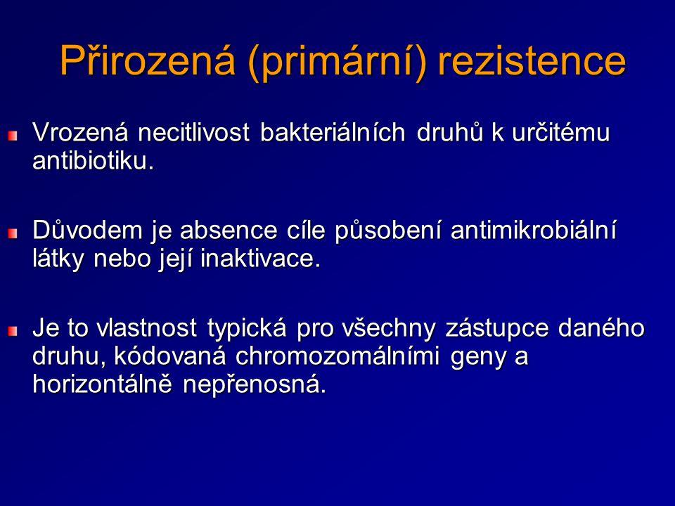 Přirozená (primární) rezistence
