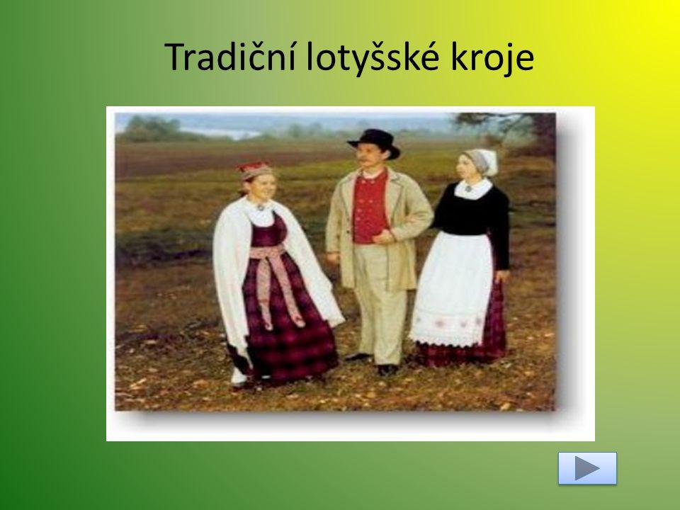 Tradiční lotyšské kroje