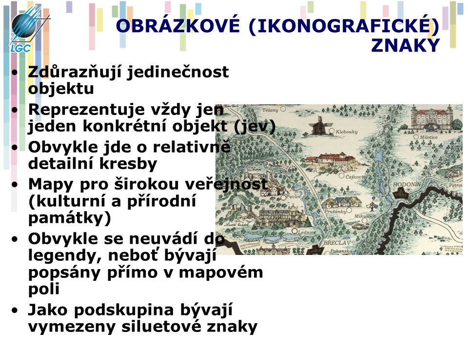 OBRÁZKOVÉ (IKONOGRAFICKÉ) ZNAKY
