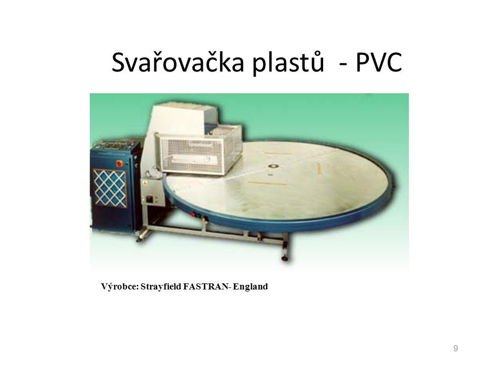 Svařovačka plastů - PVC