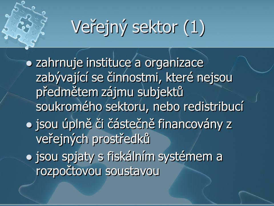 Veřejný sektor (1)