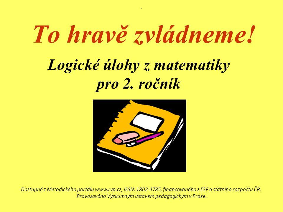 Logické úlohy z matematiky pro 2. ročník
