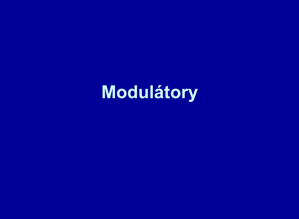 Modulátory