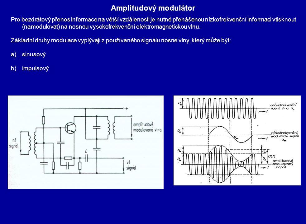 Amplitudový modulátor