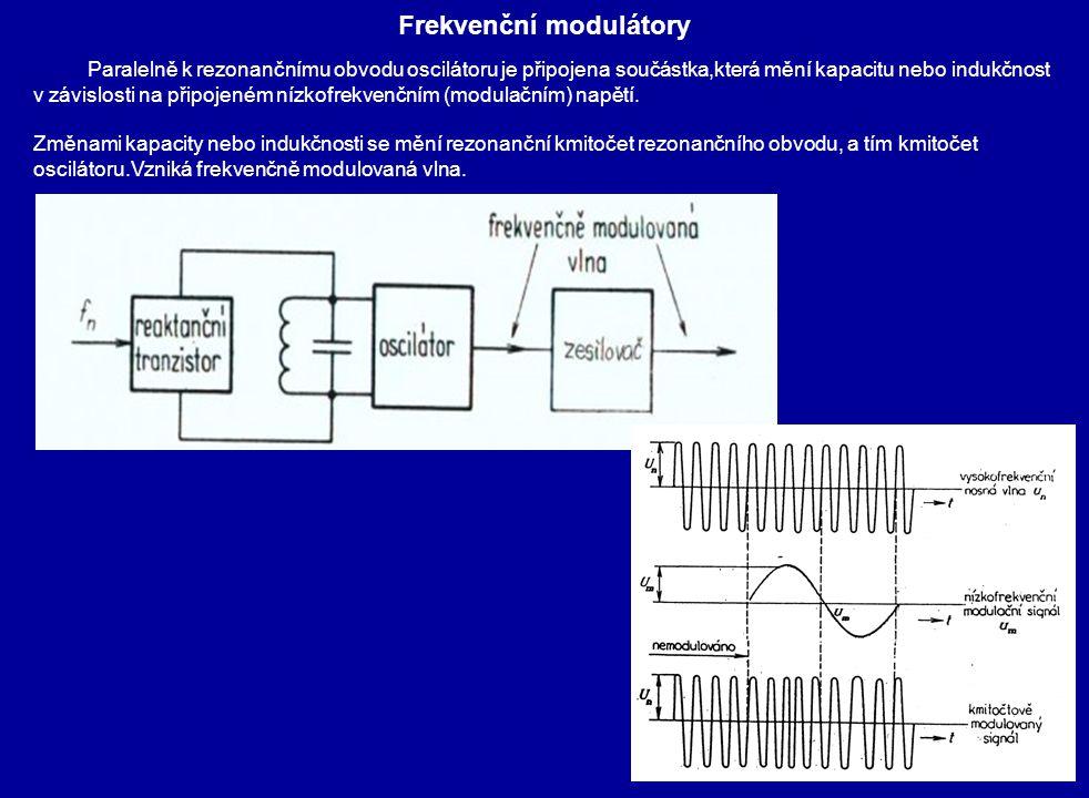 Frekvenční modulátory