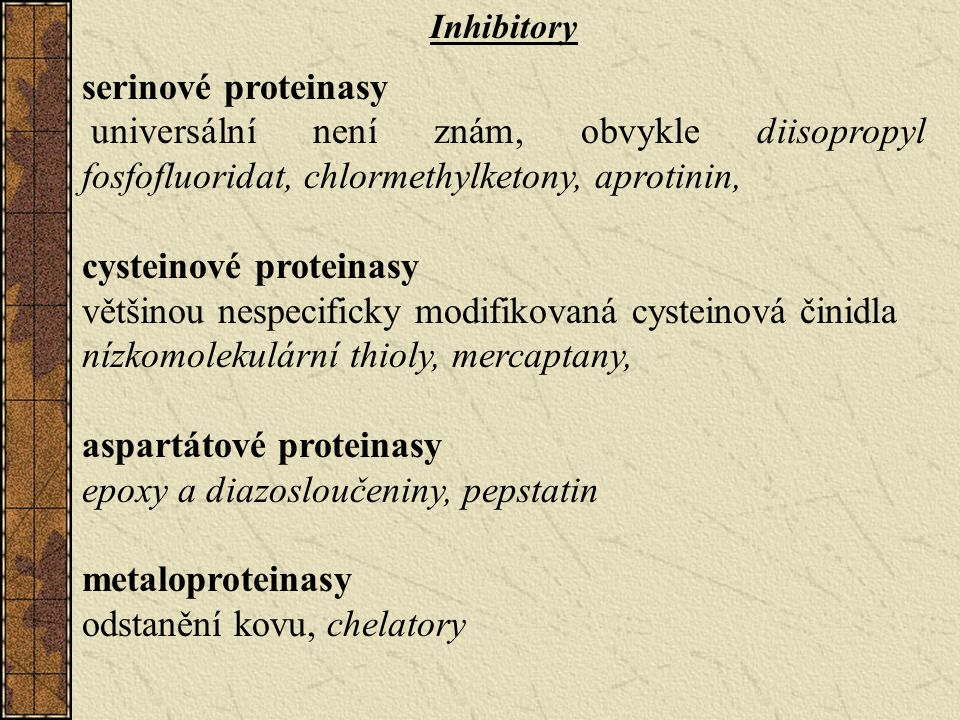 cysteinové proteinasy