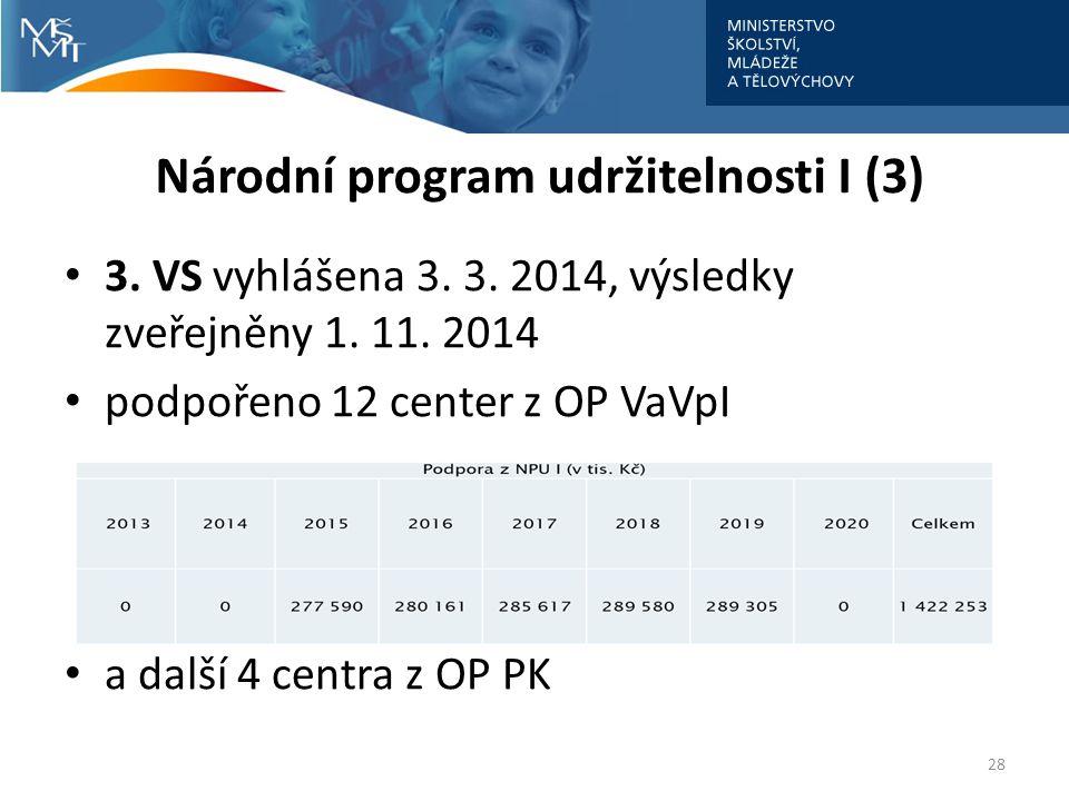 Národní program udržitelnosti I (3)