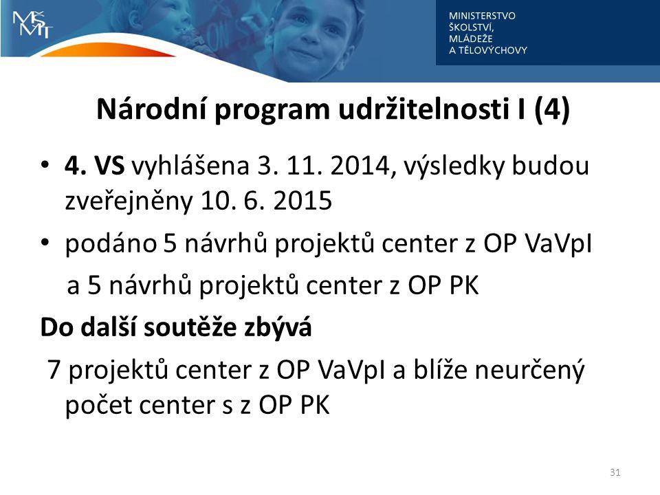 Národní program udržitelnosti I (4)