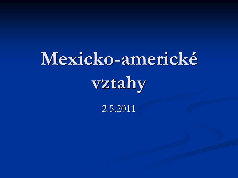 Mexicko-americké vztahy