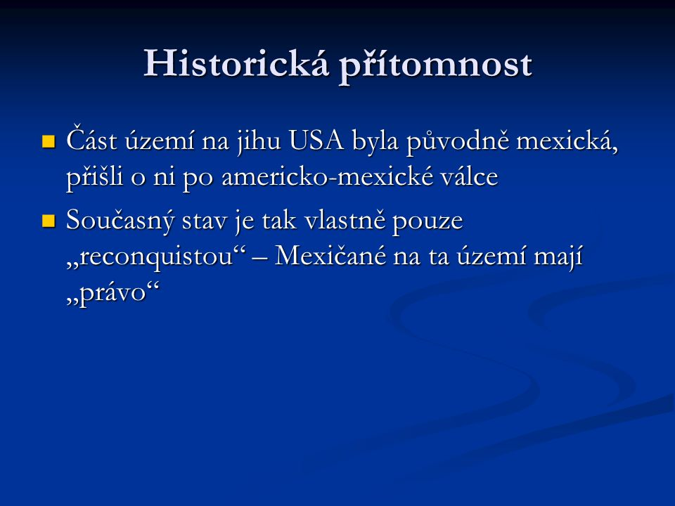 Historická přítomnost