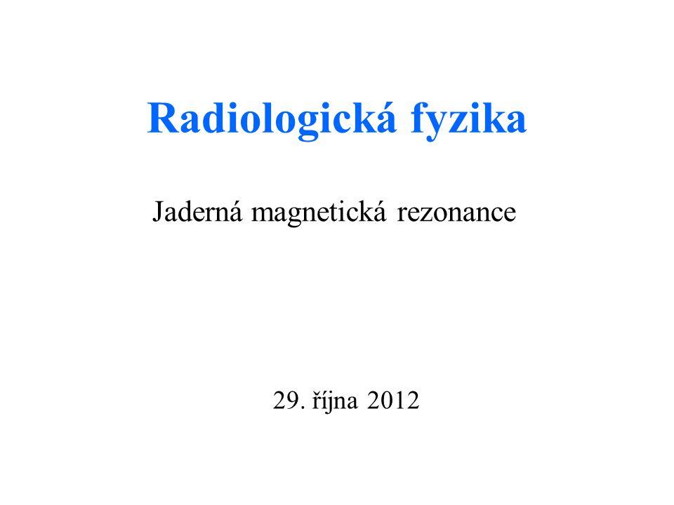 Jaderná magnetická rezonance