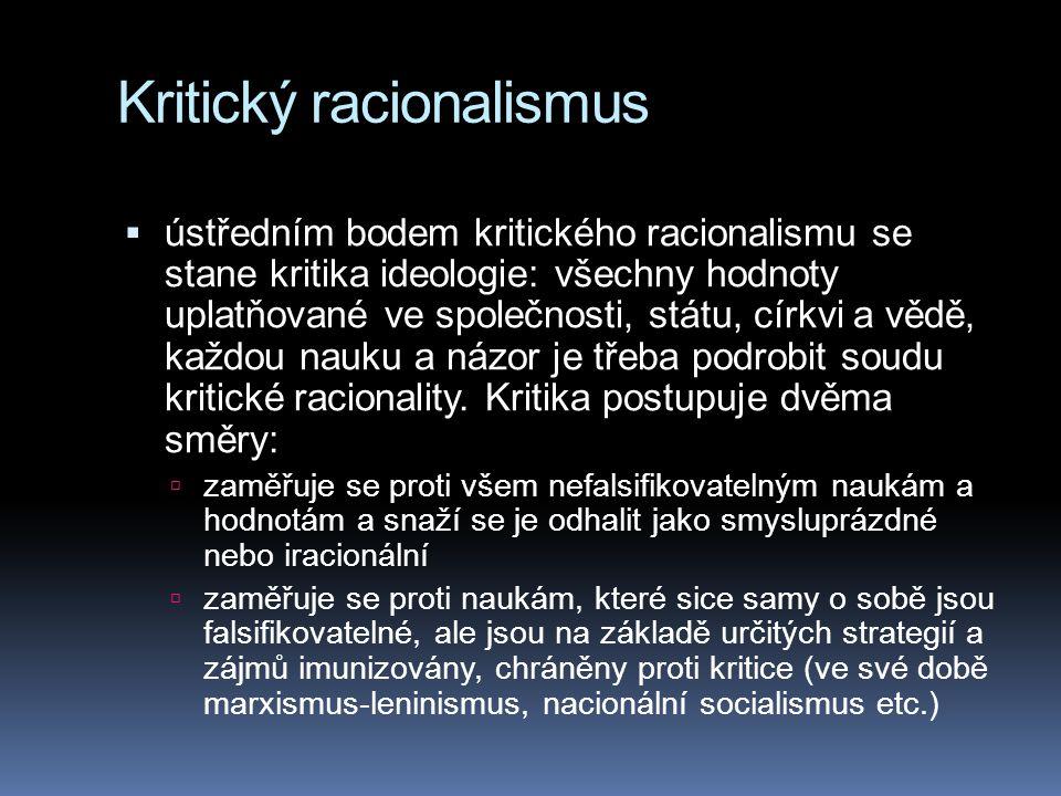 Kritický racionalismus