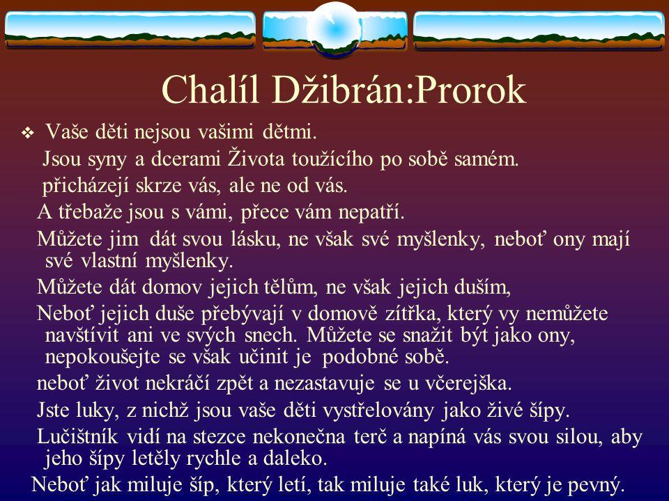 Chalíl Džibrán:Prorok