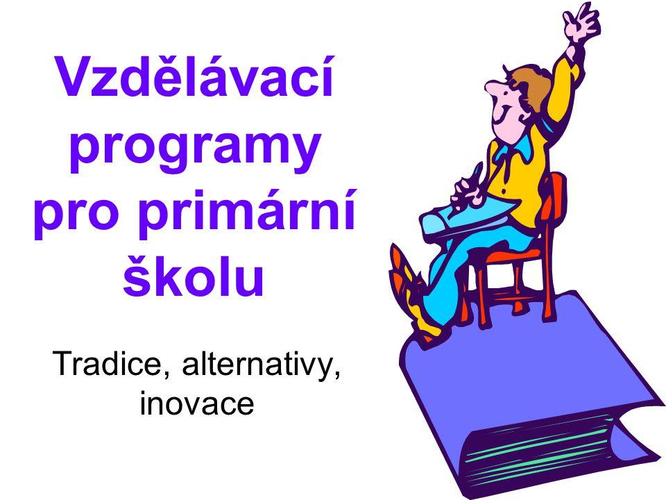 Vzdělávací programy pro primární školu