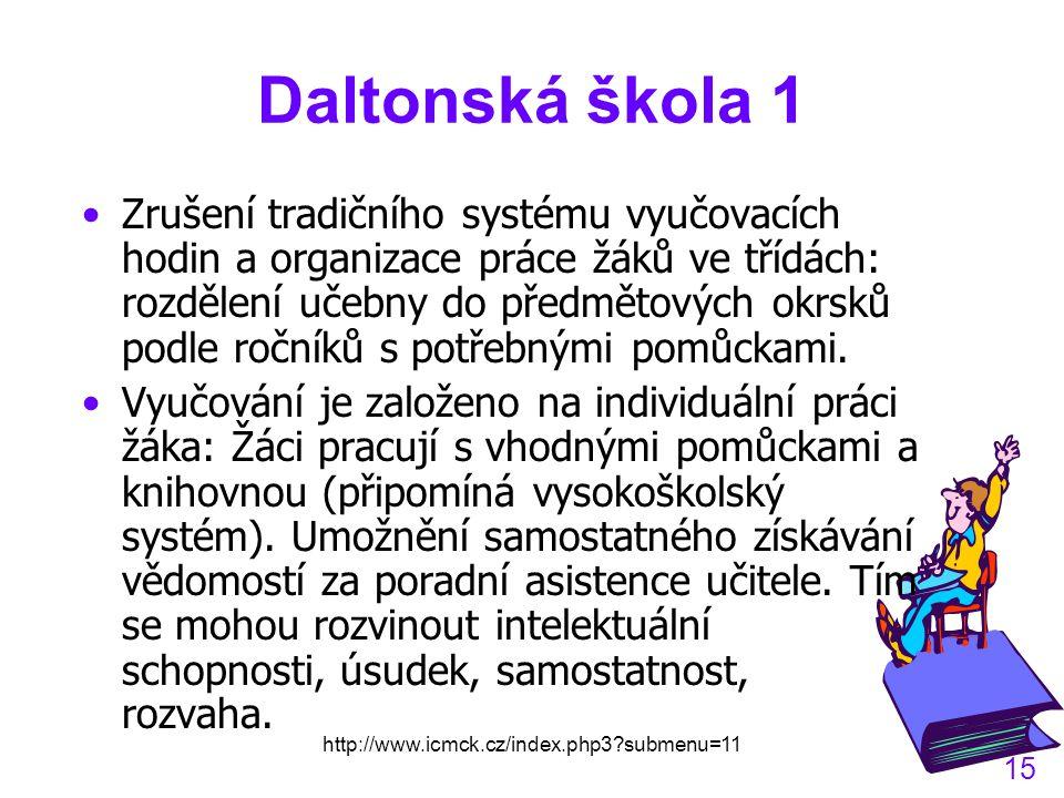 Daltonská škola 1