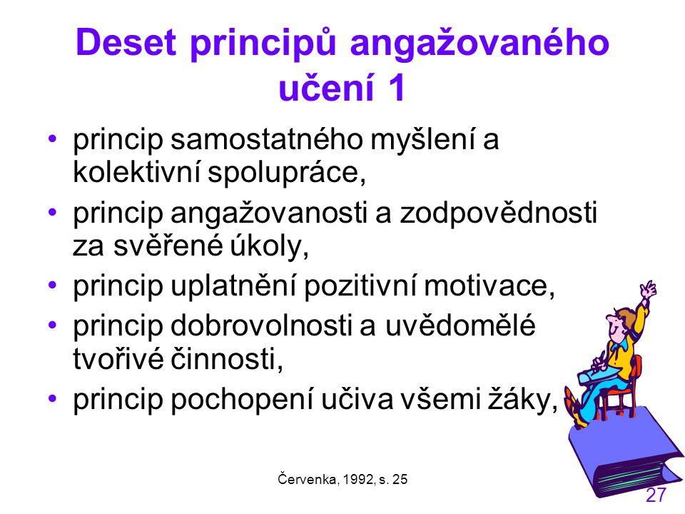Deset principů angažovaného učení 1