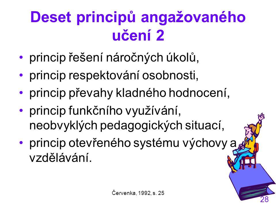 Deset principů angažovaného učení 2